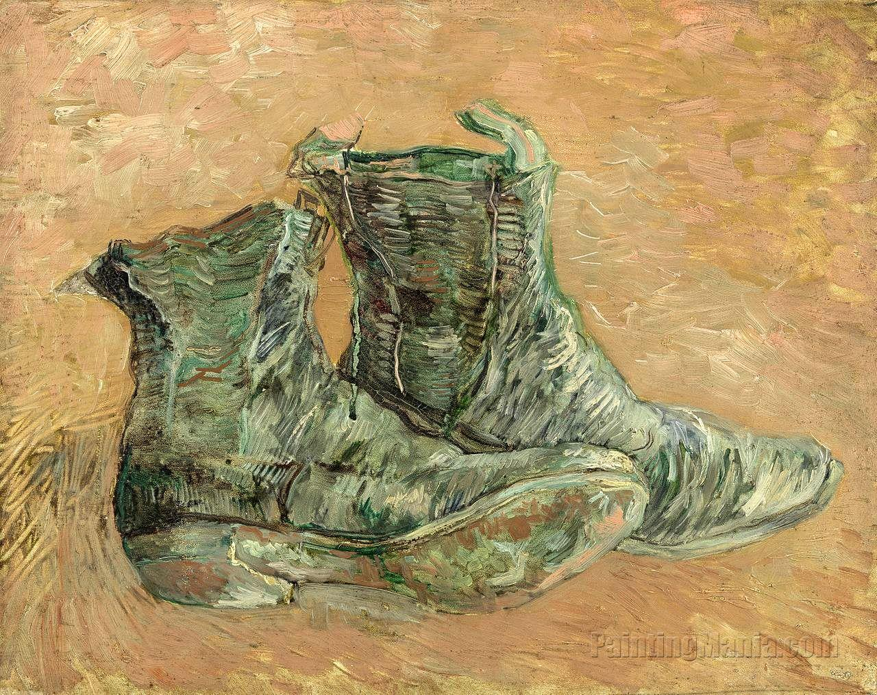 A Pair of Shoes 1886 - Vincent van Gogh
