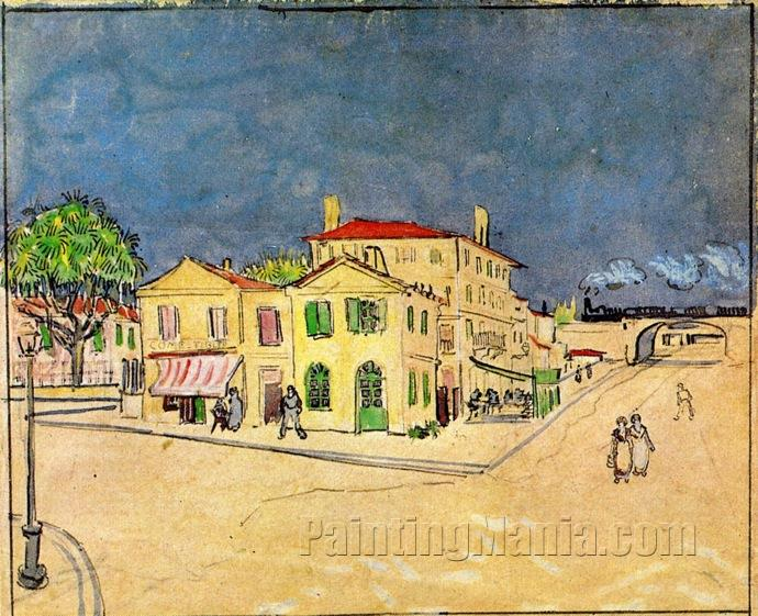Vincent's House in Arles (The Yellow House) 1888