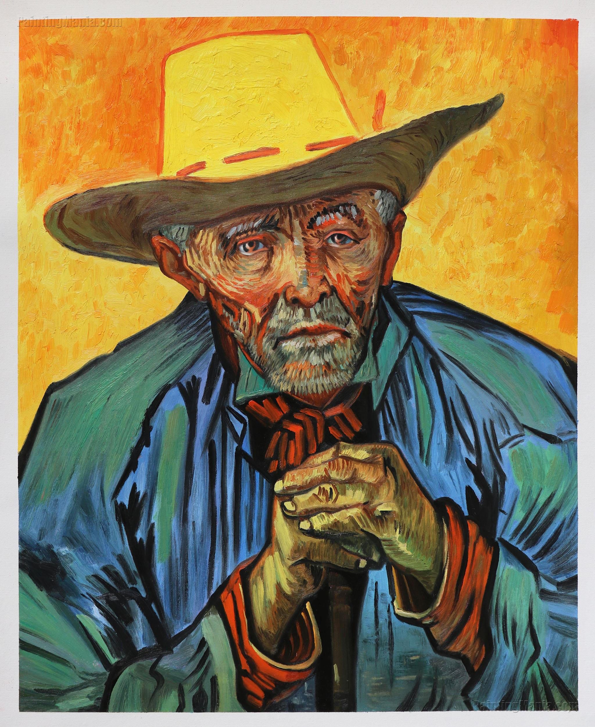 """an analysis of vincent van goghs oil painting portrait of patience escalier Vincent van gogh's """"portrait of a peasant (patience escalier)""""  says in a video  about the painting that is available online and at the museum."""