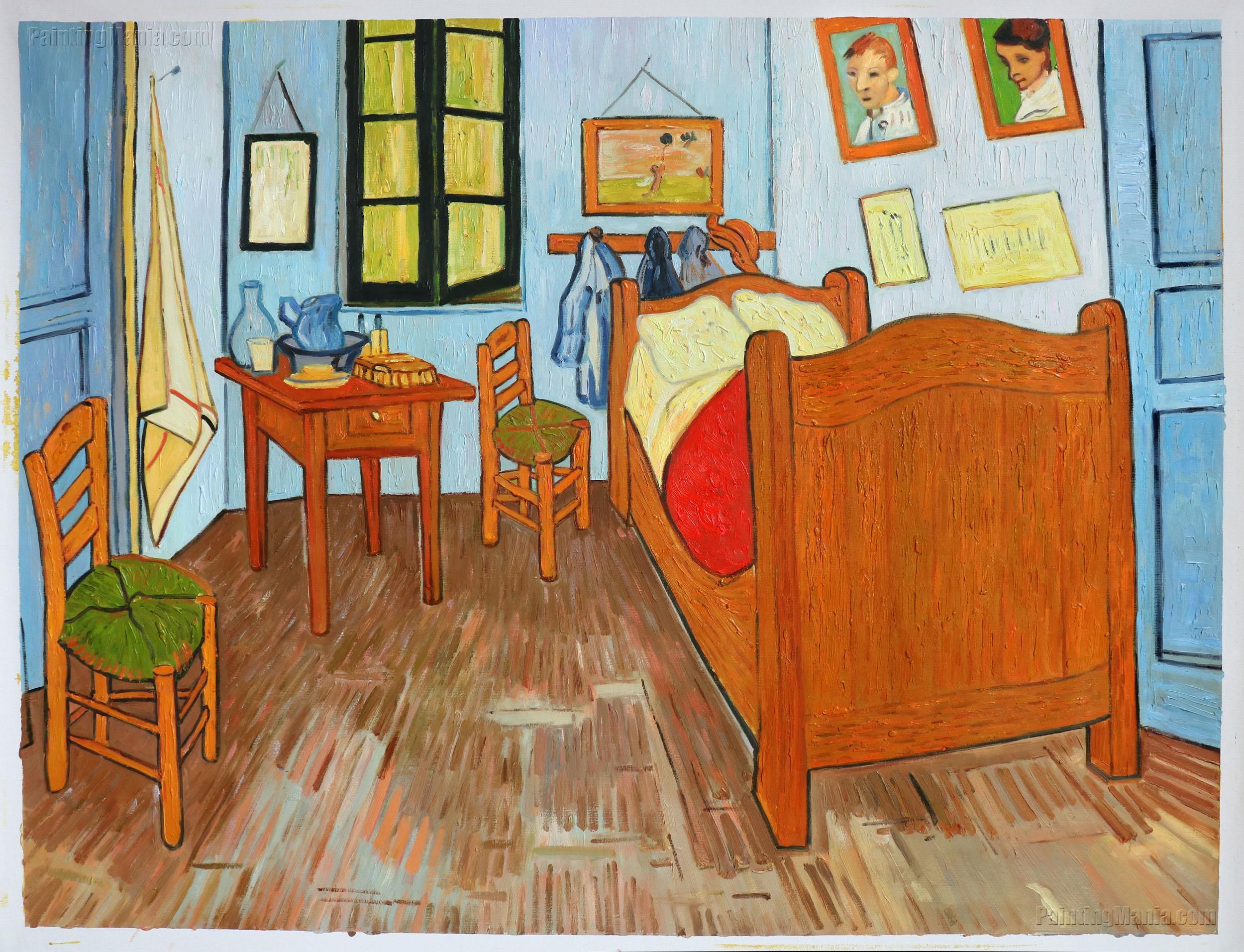 Vincent 39 S Bedroom In Arles Vincent Van Gogh Paintings