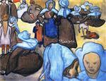 Breton Women (after Emile Bernard)