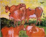 Cows (after Jordaens)