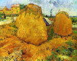 Haystacks in Provence