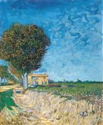 A Lane near Arles (Side of a Country Lane)