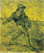 The Sower (after Millet) 1889
