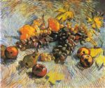 Still Life with Grapes, Apples, Lemons and Pear
