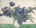 Still Life - Vase with Irises