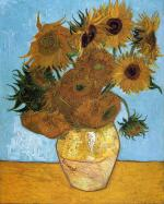 Still Life: Vase with Twelve Sunflowers 1888
