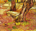 The Stone Bench in the Garden of Saint-Paul Hospital