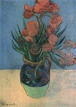 Vase with Oleanders