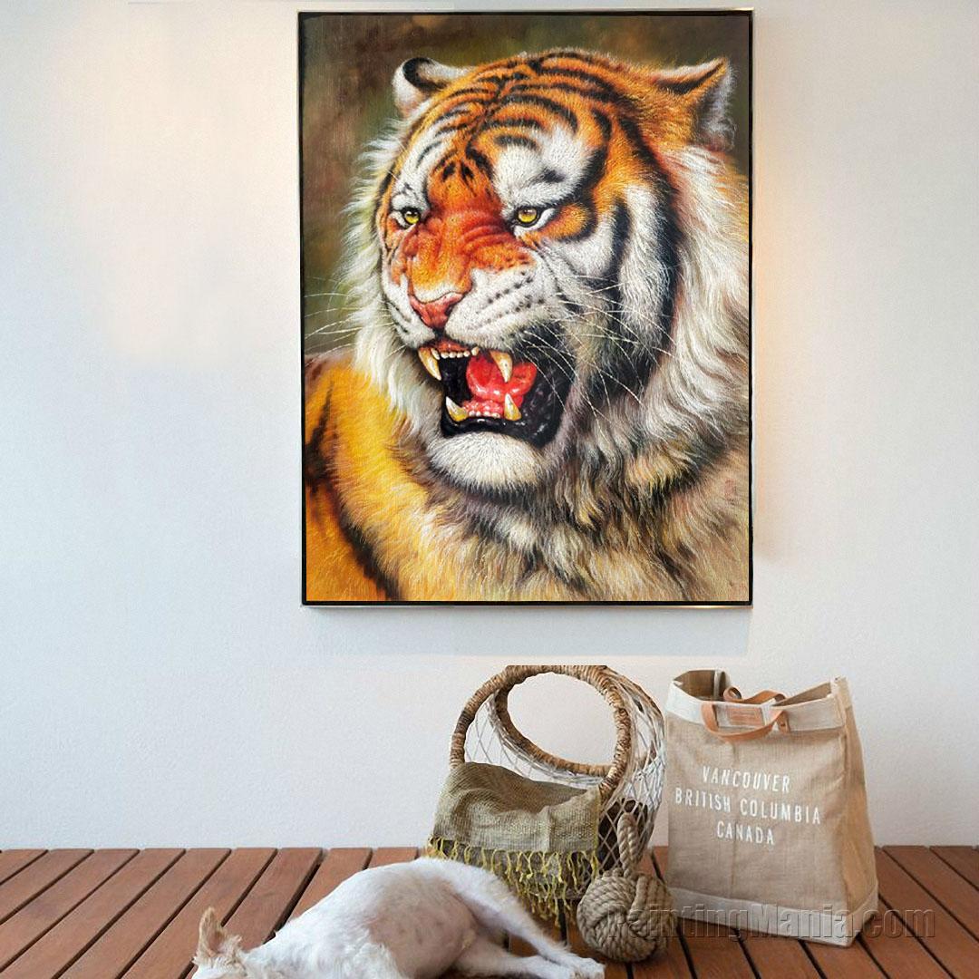 Siberian Tiger (Amur Tiger)