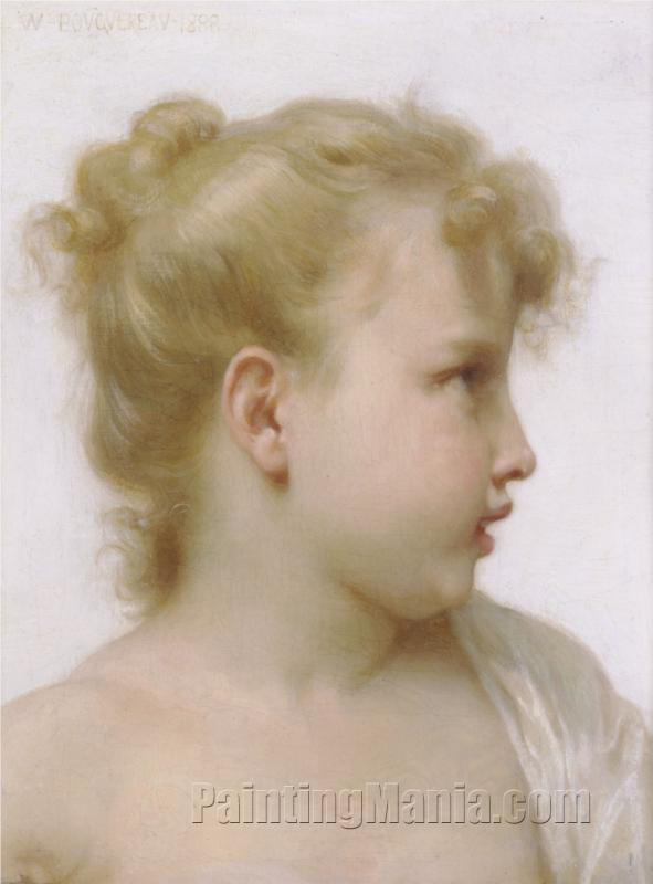 Head of a Young Girl 1888
