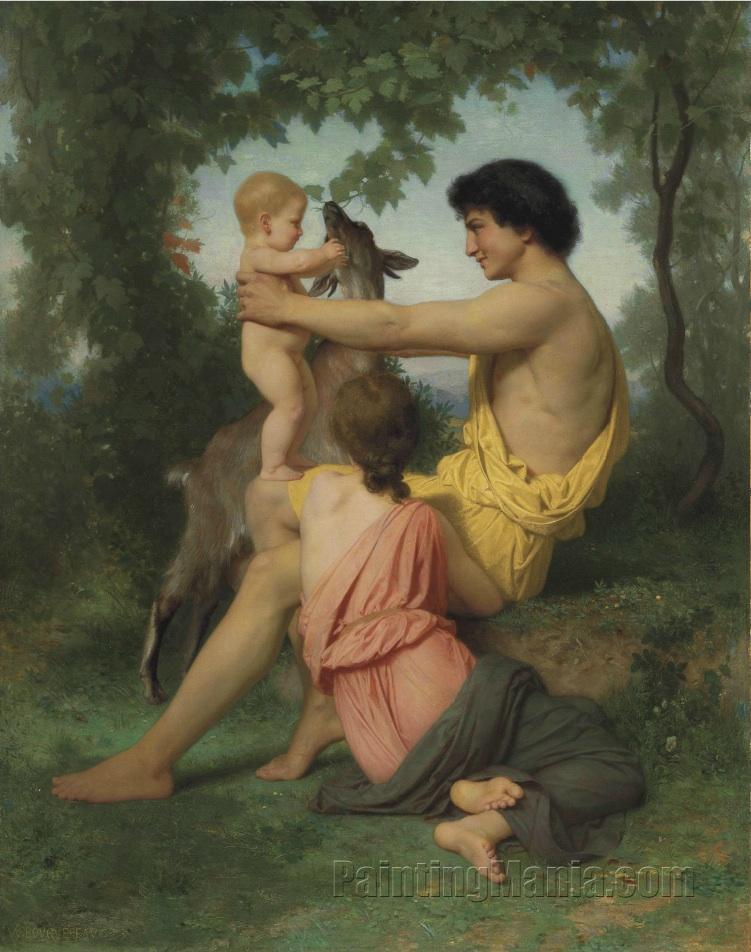 Idylle: famille antique
