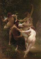 Nymphes et satyre (Nymphs and Saytr)