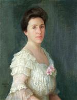 Portrait of Mrs. T.E. Parker