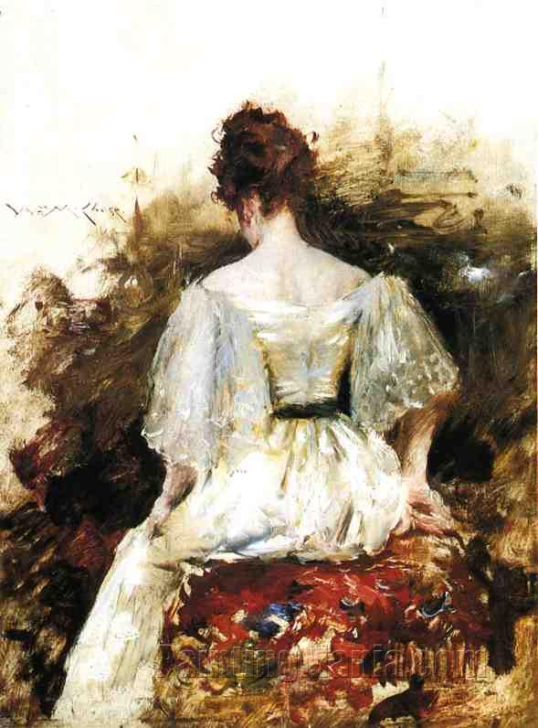 Women's White Sun Dress (Indonesia) | Overstock.com