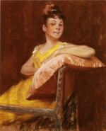 A Girl in Yellow (The Yellow Gown)